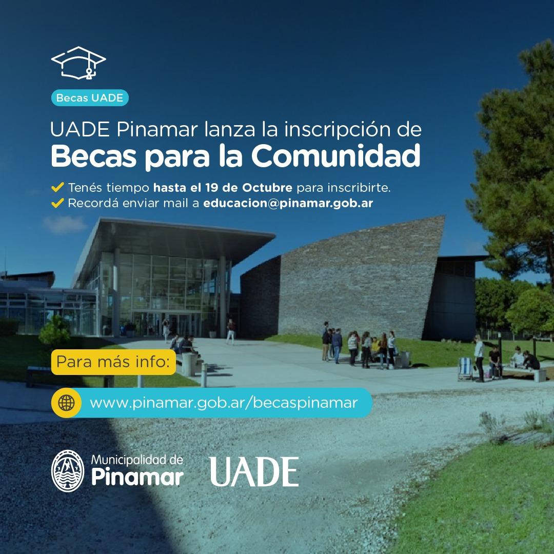 Información Municipal Becas UADE