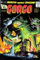 Gorgo v1 #4 charlton monster comic book cover art by Steve Ditko