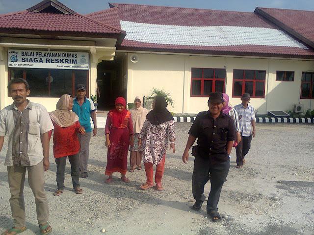 Diduga Selewengkan Dana Desa, Warga Polisikan Kepala Desa