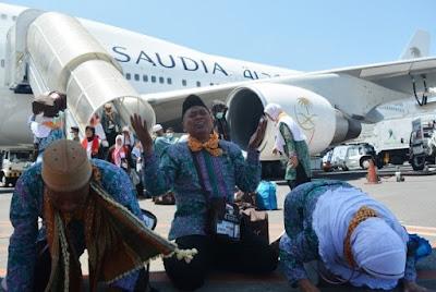 Tanda Pengenal Penjemputan Jamaah Haji
