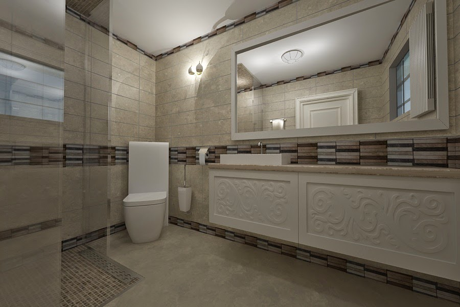 Design interior baie casa Bucuresti