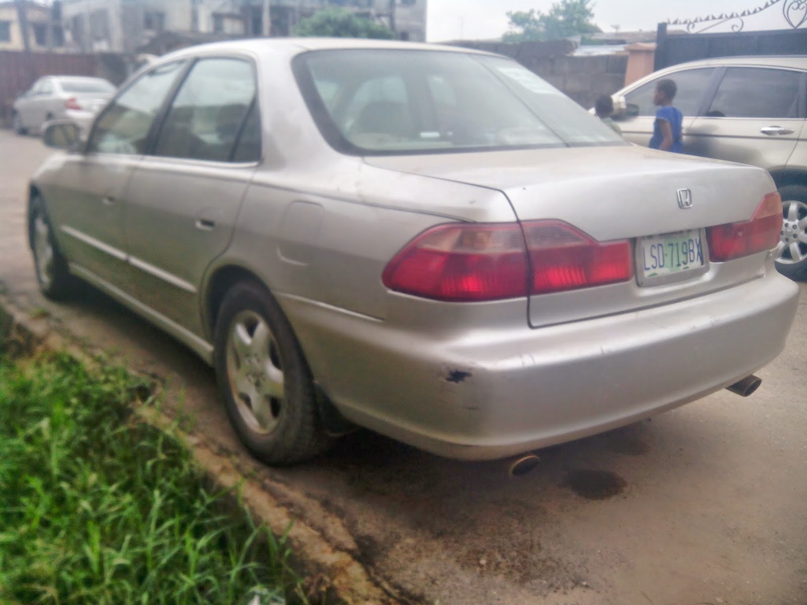 Very Neat Registered Honda Accord 2000model For Sale In Lagos