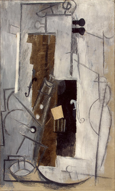 Clarinet And Violin - Pablo Picasso Endless Paintings
