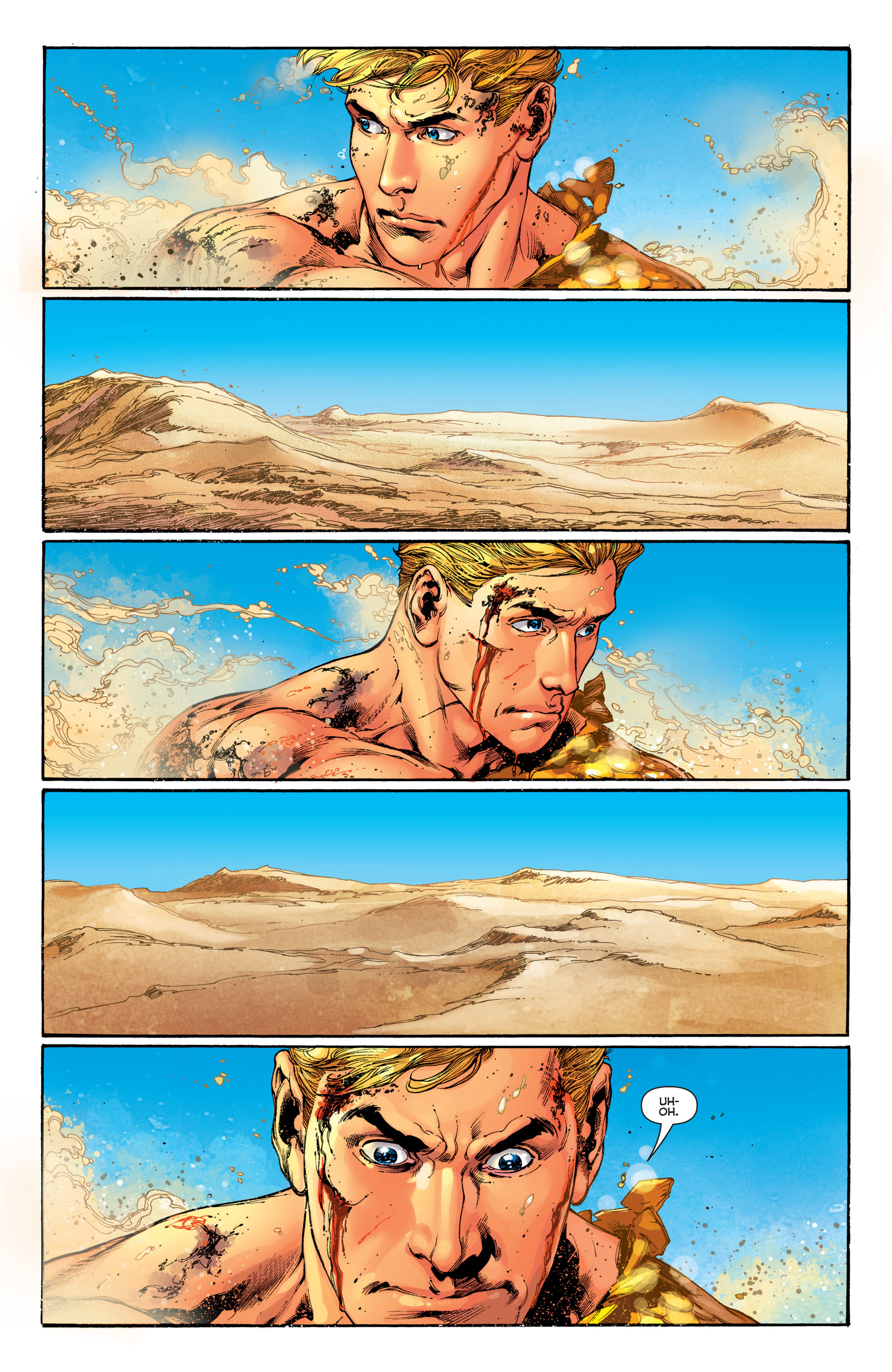 Read online Aquaman (2011) comic -  Issue #5 - 5