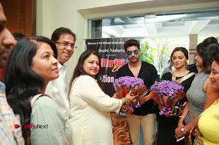 Bollywood Actress Sana Khan Launches Aakrithi Exibition  0411.JPG