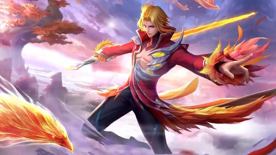 Ling, Fiery Dance, Skin, Mobile Legends, 4K, #7.299