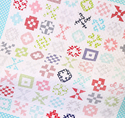 Patchwork Quilt Along with Fat Quarter Shop