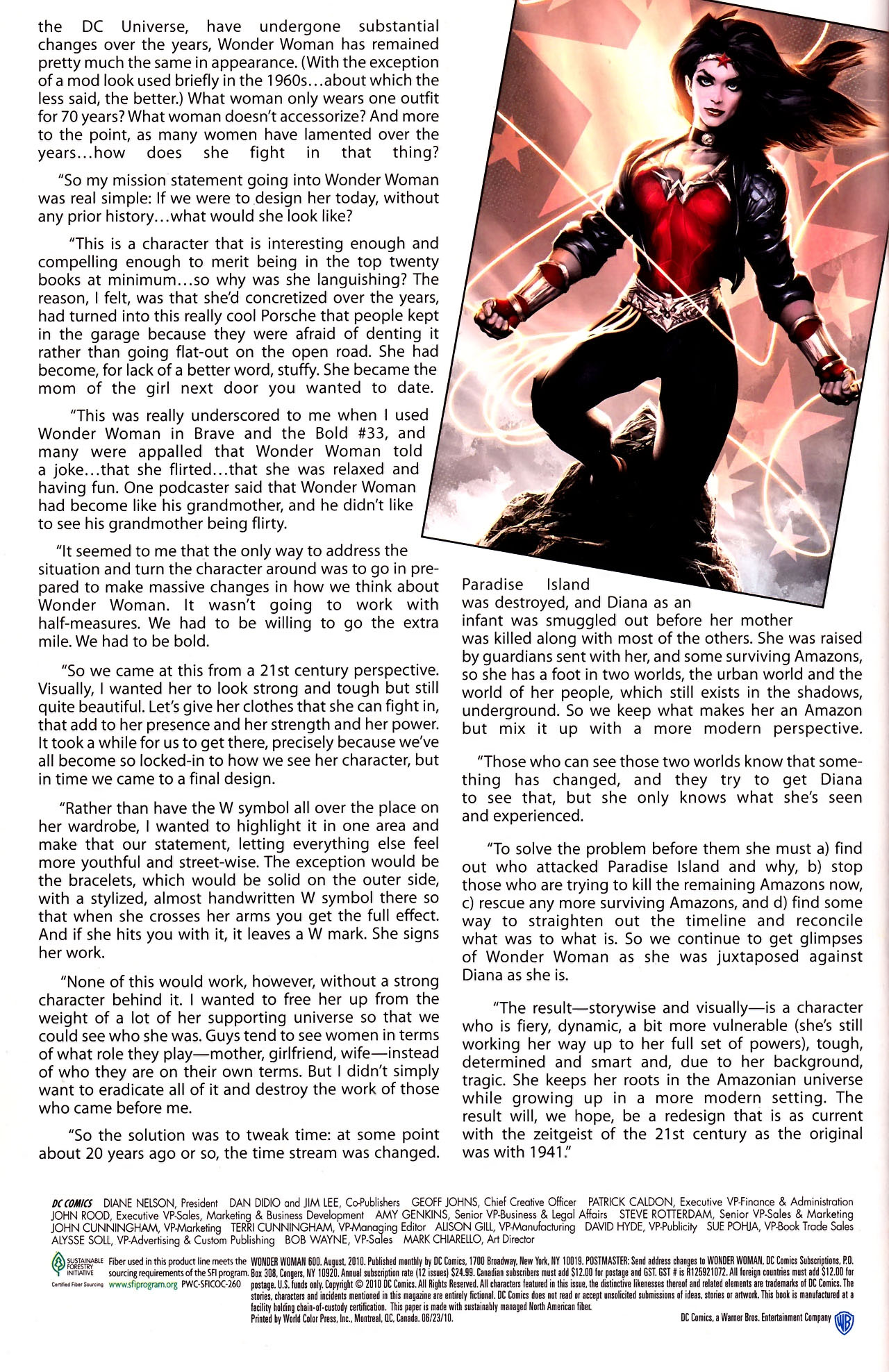 Read online Wonder Woman (2006) comic -  Issue #600 - 52
