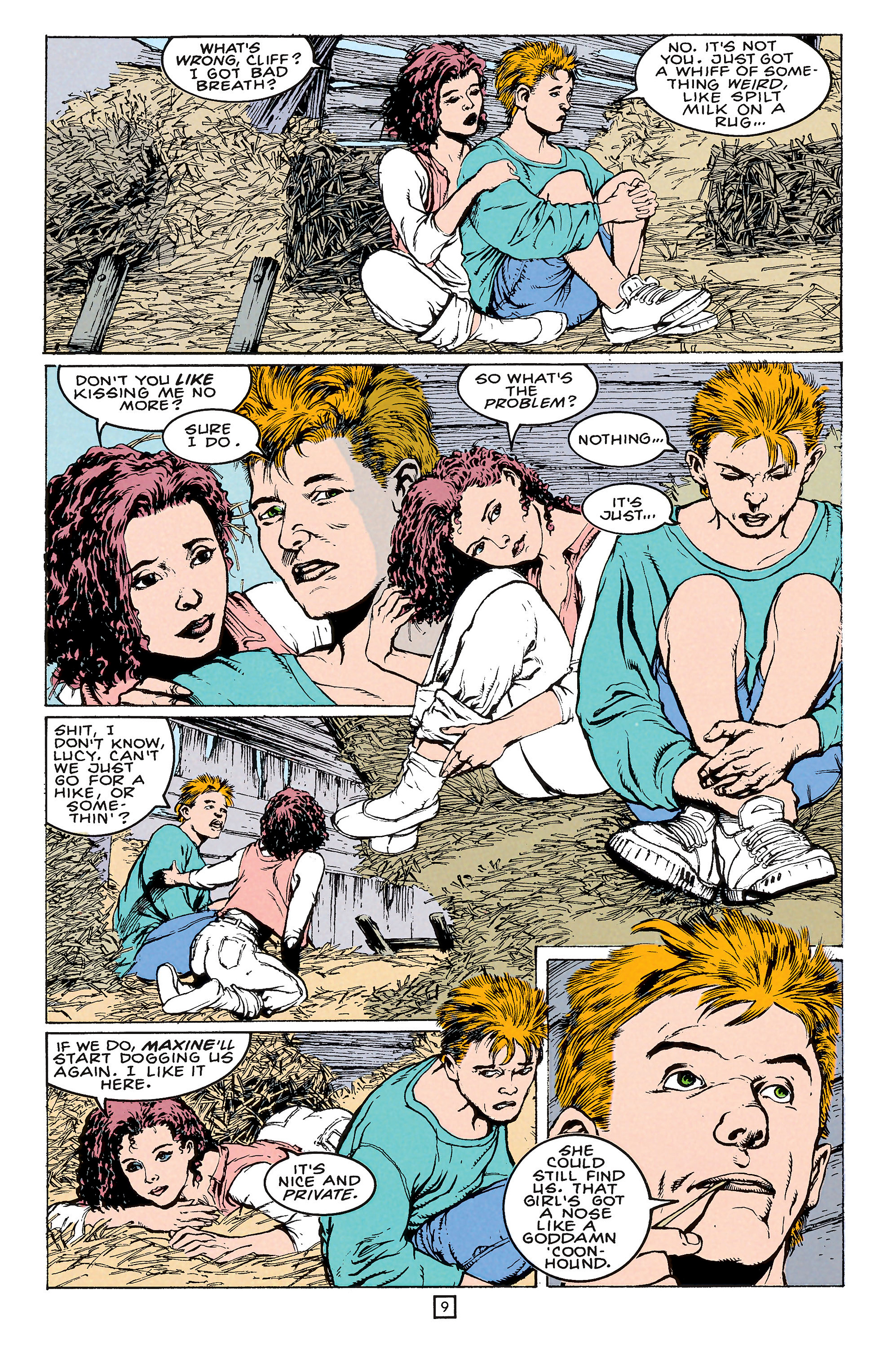 Read online Animal Man (1988) comic -  Issue #65 - 9