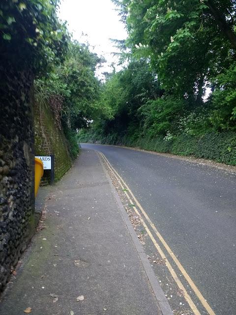 Norwich, Telegraph Lane West, Psychogeography, Thorpe Hamet