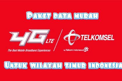 Paket internet telkomsel murah untuk wilayah timur indonesia 2019