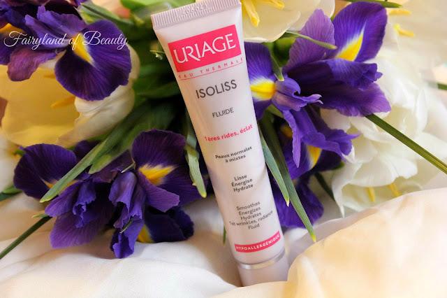 Отзыв: Эмульсия для нормальной и комбинированной кожи из антивозрастной линии Изолис Uriage Isoliss Fluid.