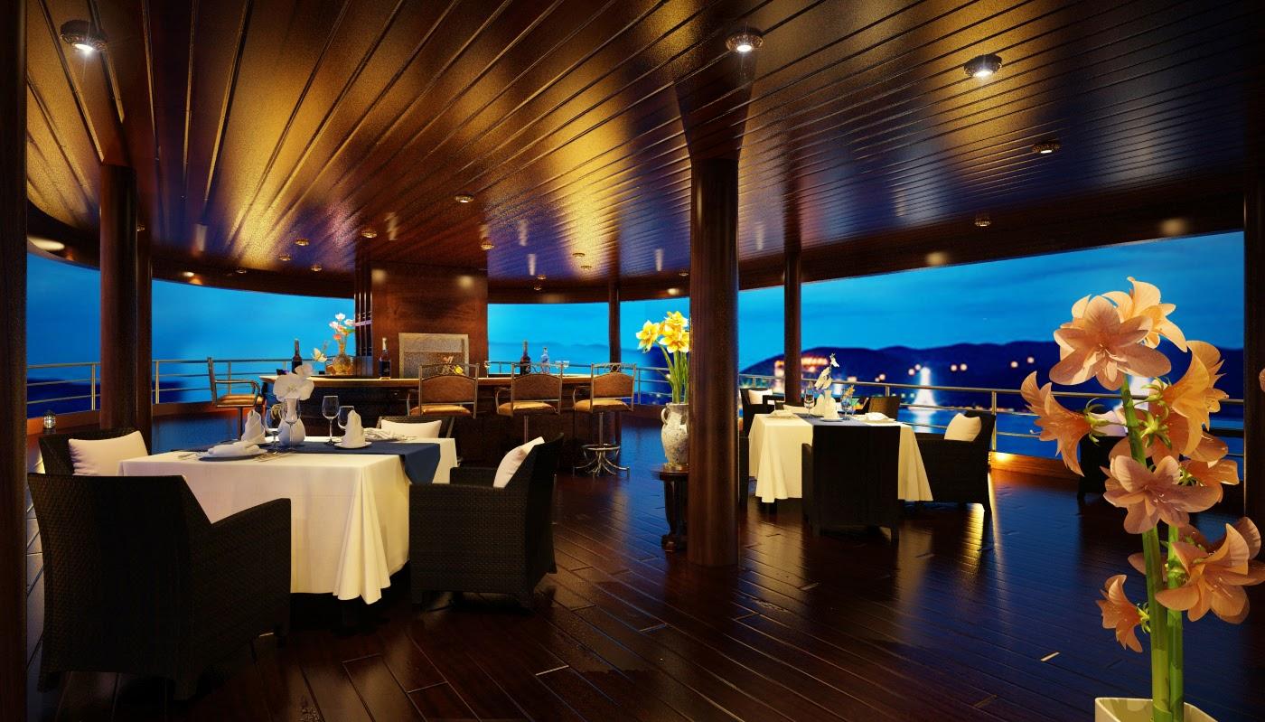 sun deck emperor cruise - vietnam tour pedia