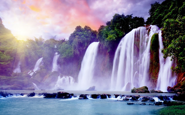 Download Full HD Beautifull Waterfall Wallpapers Free