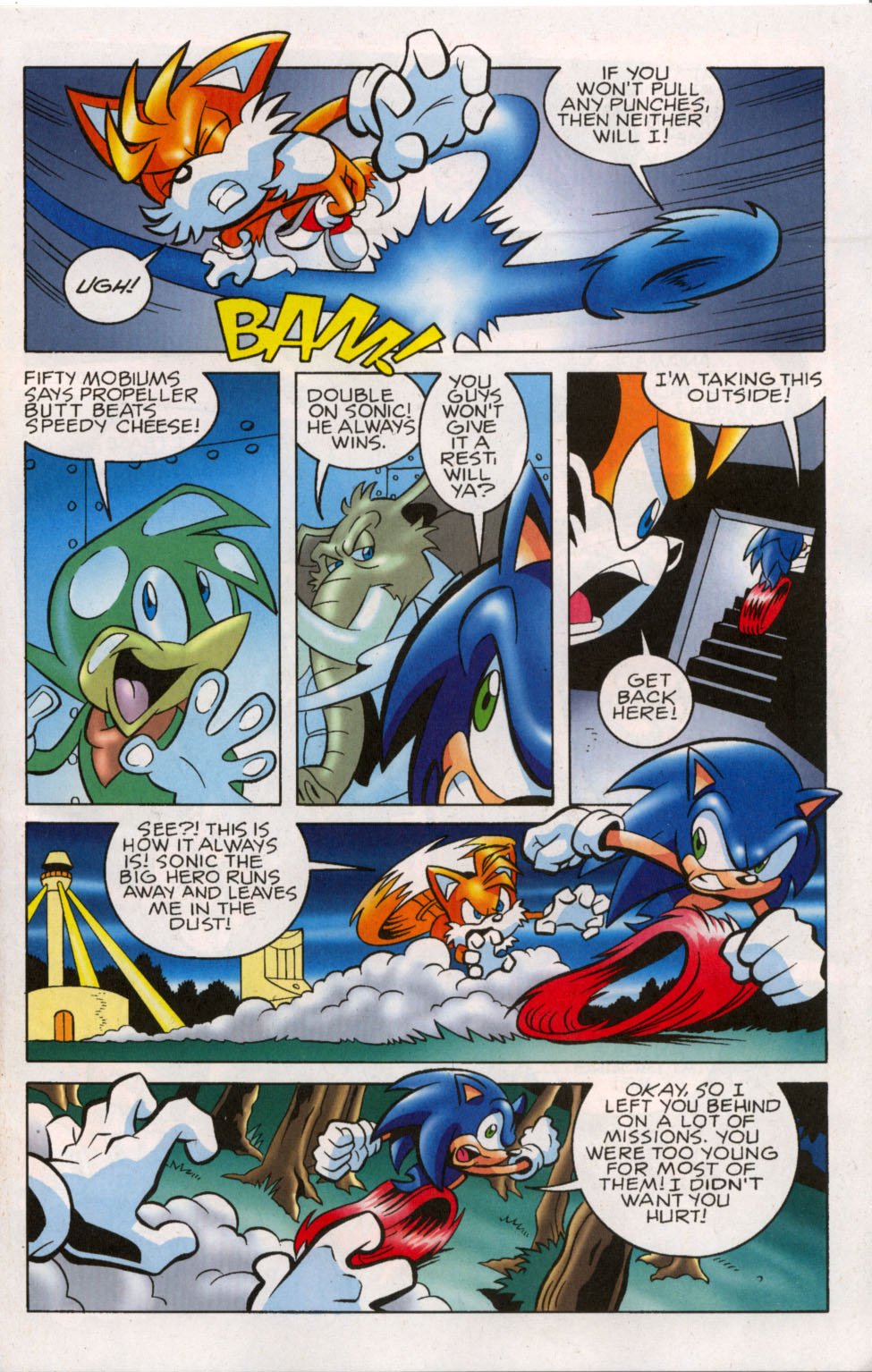 Read online Sonic The Hedgehog comic -  Issue #179 - 8