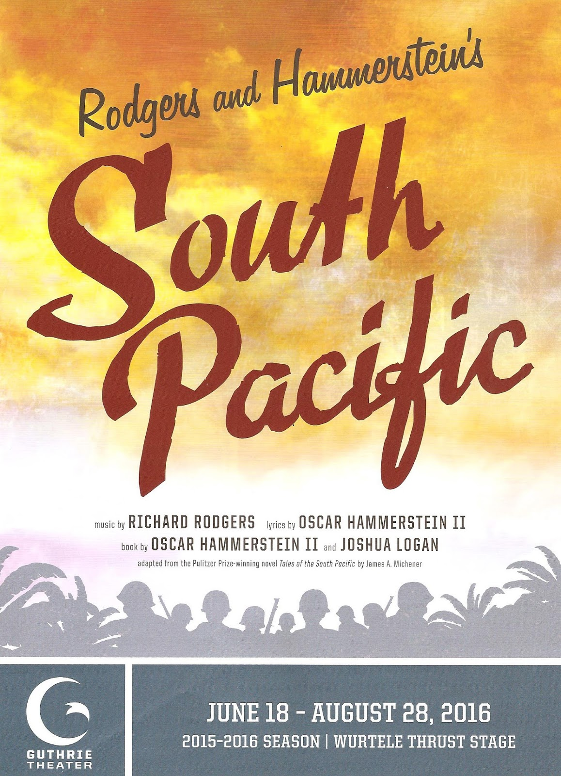 Cherry And Spoon South Pacific At The Guthrie Theater - Tales of the south pacific