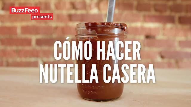 Receta Para Hacer Nutella Casera