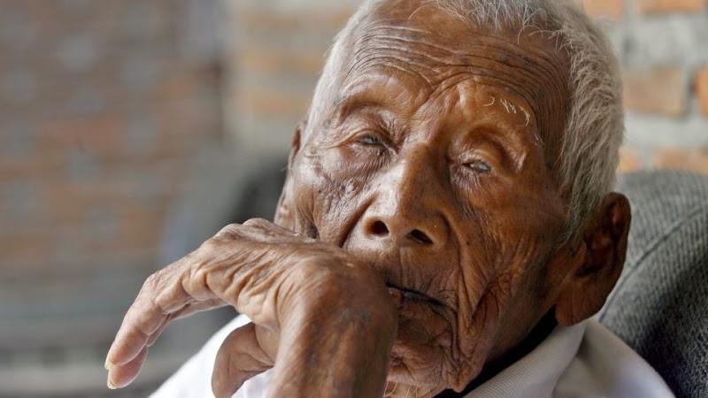 Subhanallah, Begini Rahasia Panjang Umur Mbah Gotho Manusia Tertua Di Dunia, Bikin Merinding