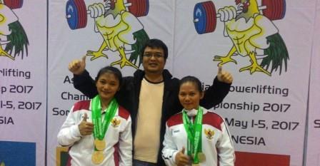 2 Atlet Puteri Angkat Besi Mewakili Indonesia Berlaga di Kancah Internasional