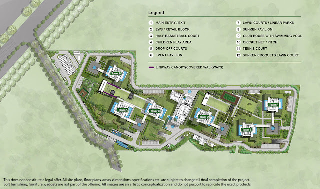 Master Plan - Ireo Gurgaon Hills