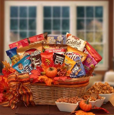 Kim's La Bella Baskets A Fall Snack Attack Gift Basket
