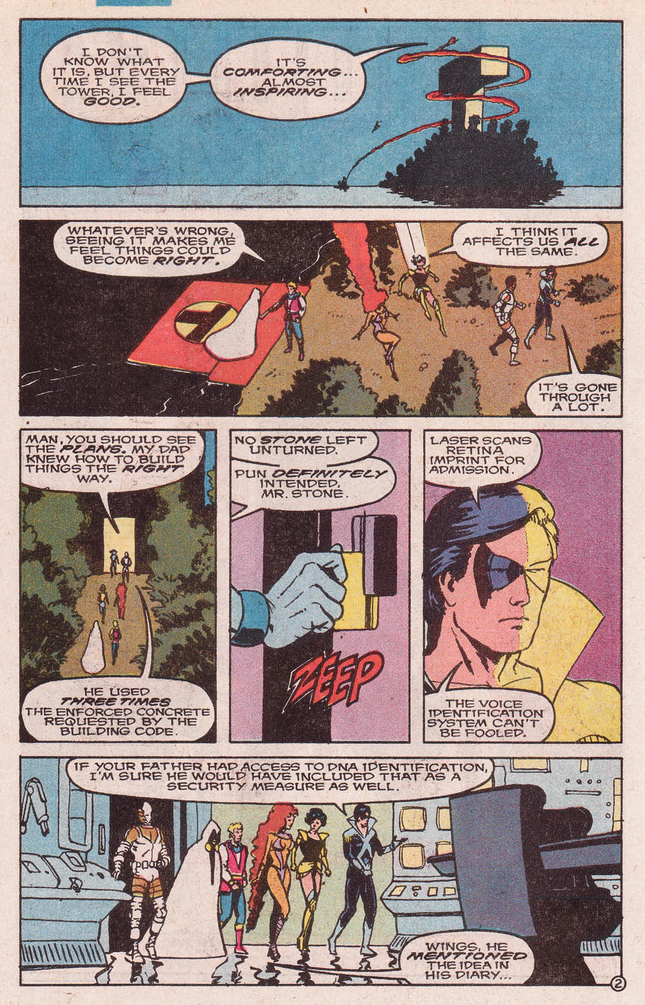 Read online Secret Origins (1986) comic -  Issue #46 - 17