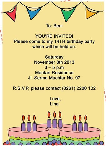 Real ppt invitation card contoh surat undangan pernikahan dalam contoh invitation birthday party dan artinya contoh top contoh invitation card birthday party beserta terjemahannya stopboris Choice Image