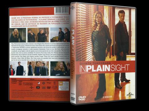Capa DVD Testemunha Ocular - Quinta Temporada