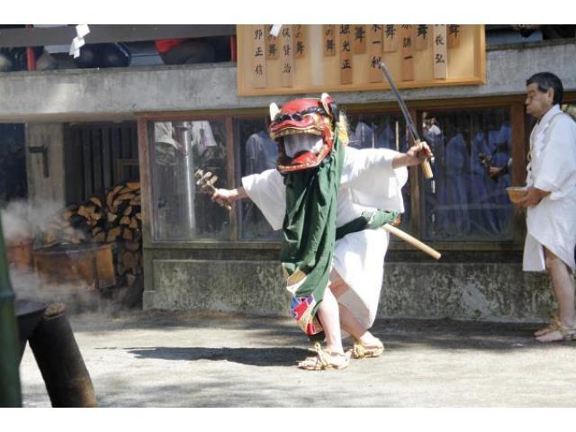 Yudate-no-Shishi-mai - Lion Dance, Suwa-jinja Shrine, Hakone-machi, Kanagawa