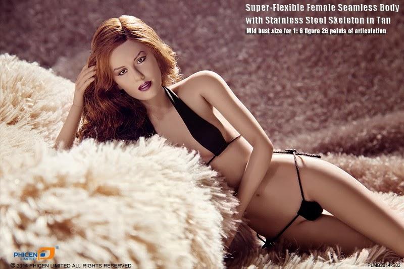 Female Action Figure Blog: Phicen Super-Flexible Female SEAMLESS