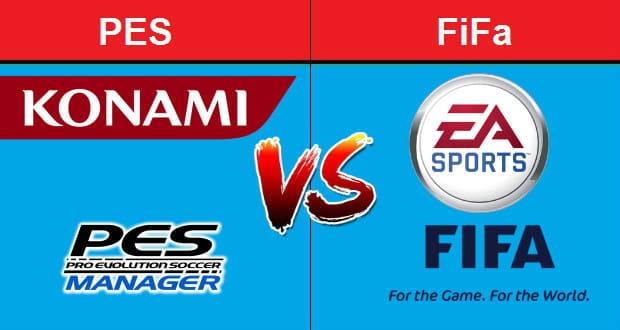 فرق بين PES و FiFa