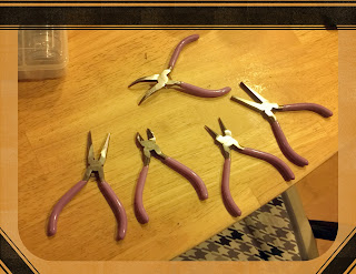 All my new jewelry making tools
