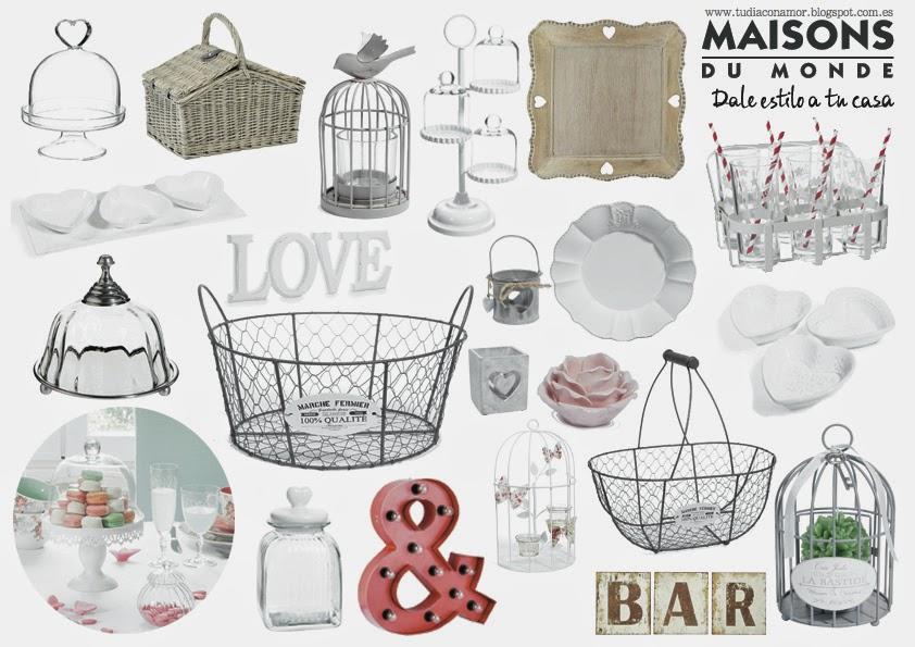 Blog de tu d a con amor invitaciones y detalles de boda inspiraci n nupcial decoraci n para bodas - Decoracion vintage barata ...