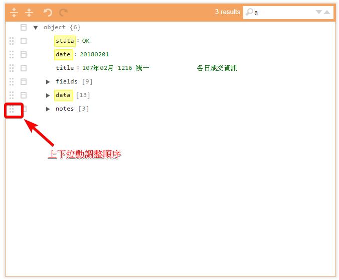 遜砲賴的爆肝筆記: [小工具] JSON Editor - 整理Json好方便