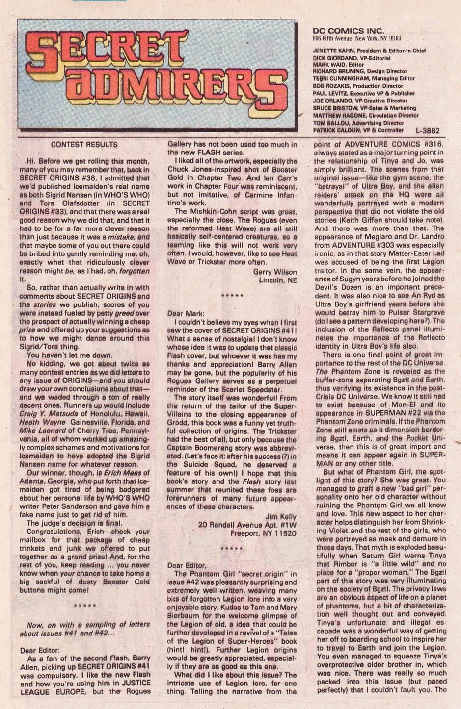 Read online Secret Origins (1986) comic -  Issue #46 - 39