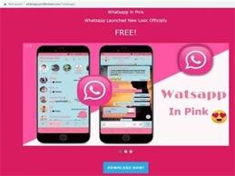 Whatsapp pink penyebar virus berbahaya