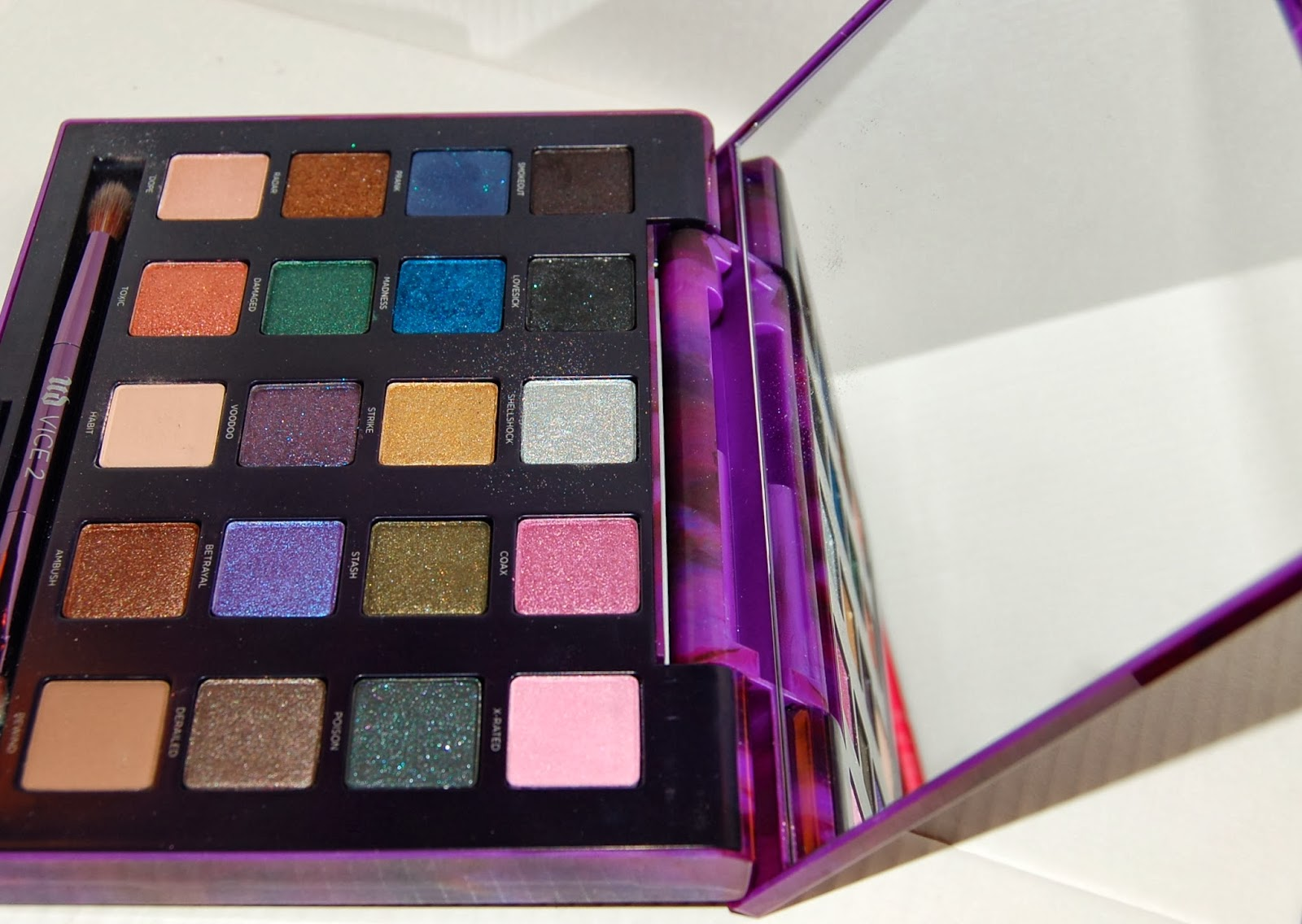 Urban Decay Vice 2 Eye Shadow Palette For Holiday 2013 ... |Urban Decay Palette 2