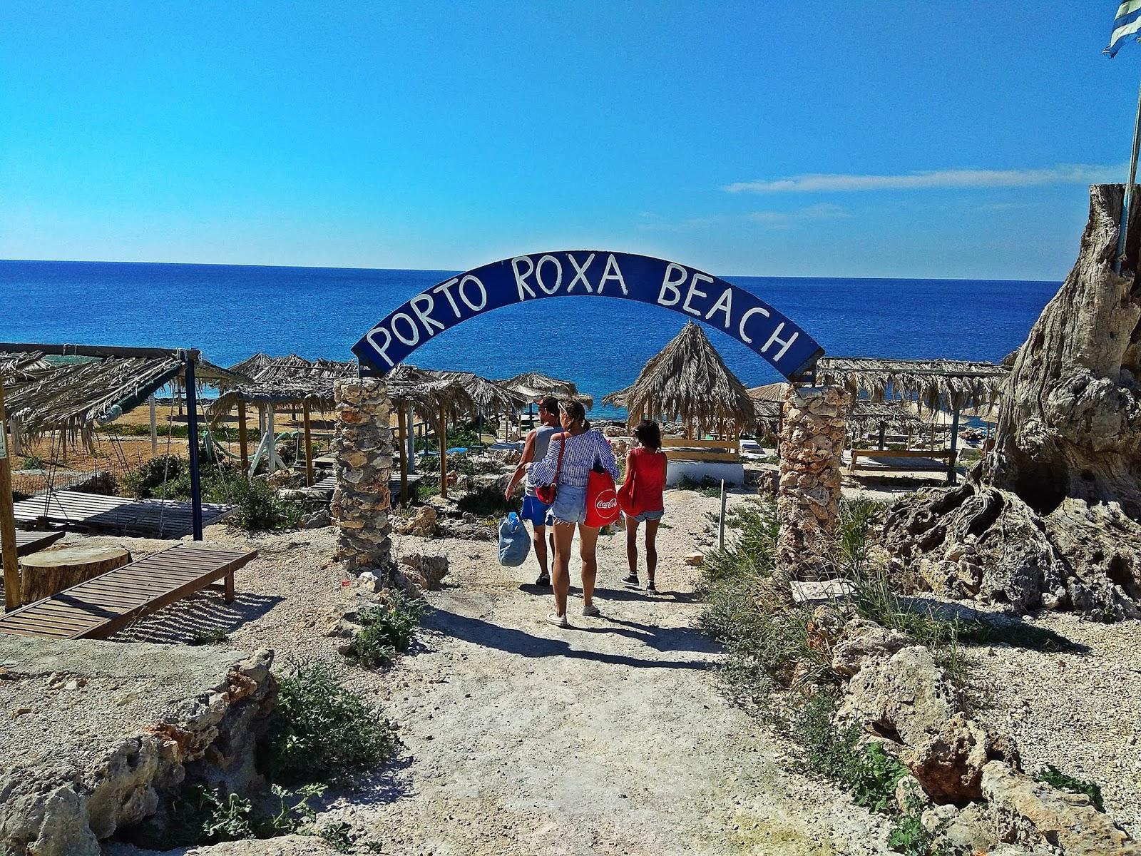 Porto roxa beach zakynthos karyn blog modowy