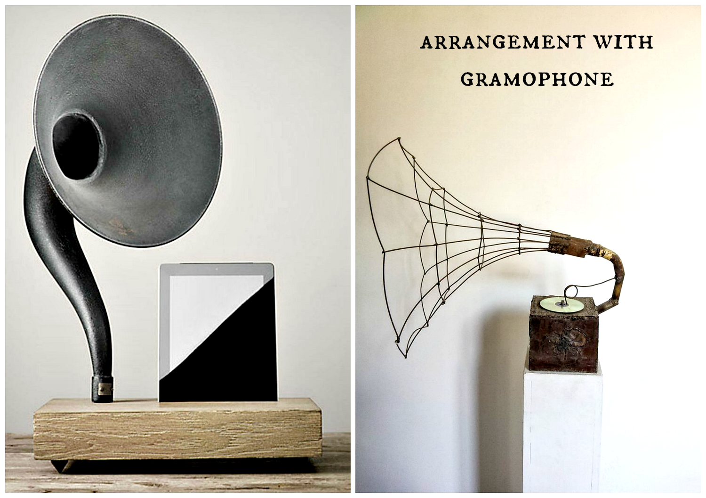 gramophone arragment