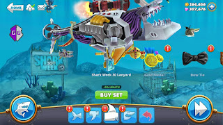 Cara Cheat Hungry Shark World dan Evolution Gold Gems Melimpah 99999