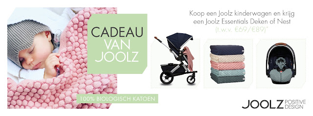 Joolz cadeau gratis Essentials deken of nestje