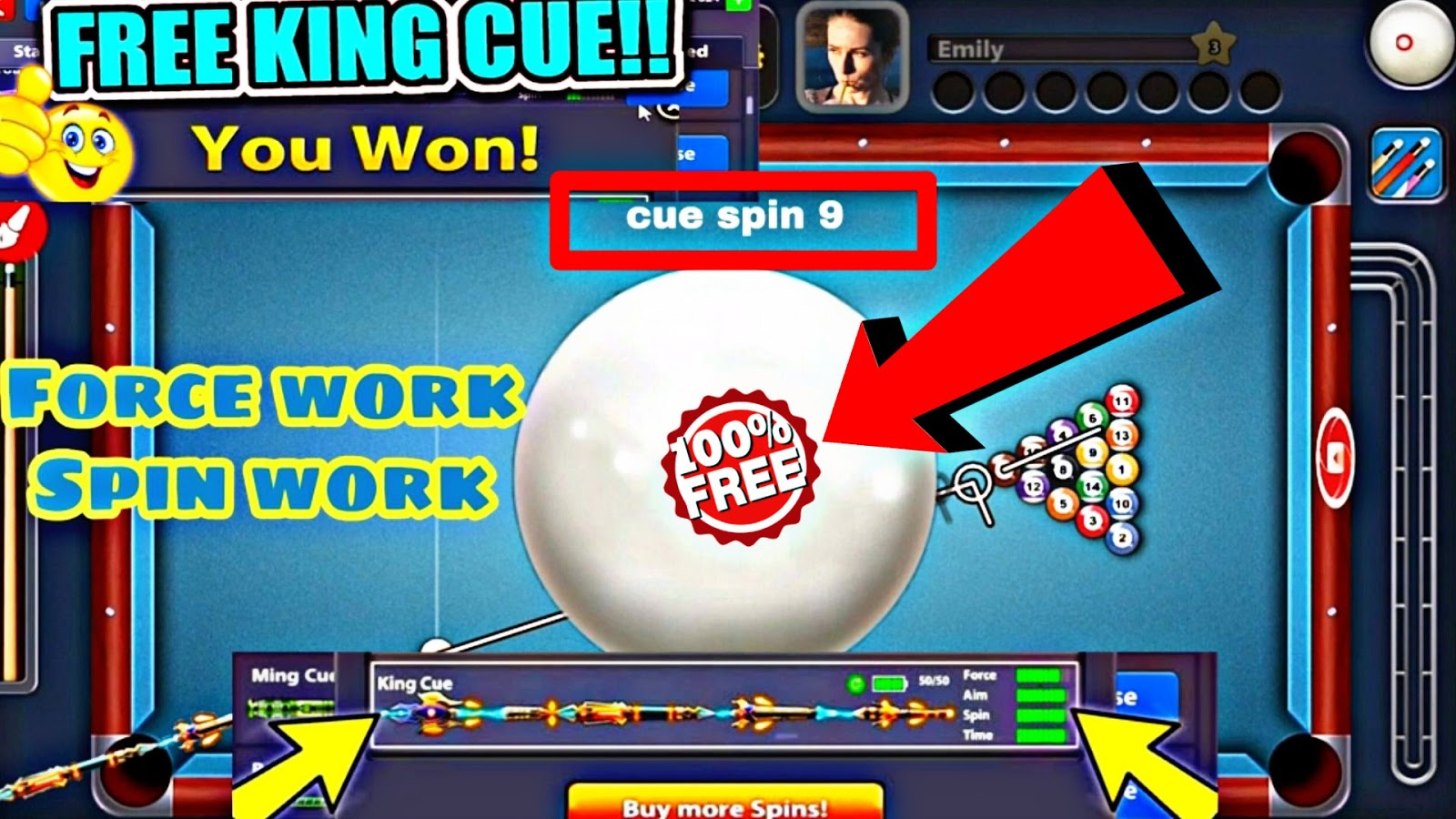 8 ball pool King cue mod 4 2 2 ~ Apkmodes