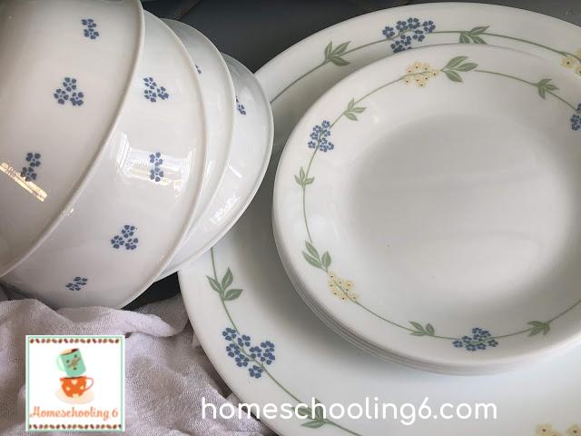 Corelle plates