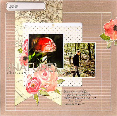 Stephanie Berger - My Creative Sketches - Scrapbooking - Nature