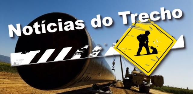 Resultado de imagem para NOTICIAS TRECHO construção de gasoduto