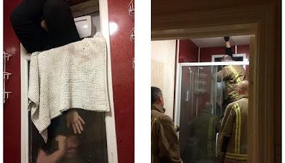 Kencan Paling Buruk, Wanita Terjebak di Jendela Kamar Mandi