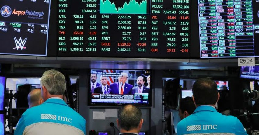 CORONAVIRUS: Mercados internacionales desploman tras anunciar Donald Trump que tiene covid-19