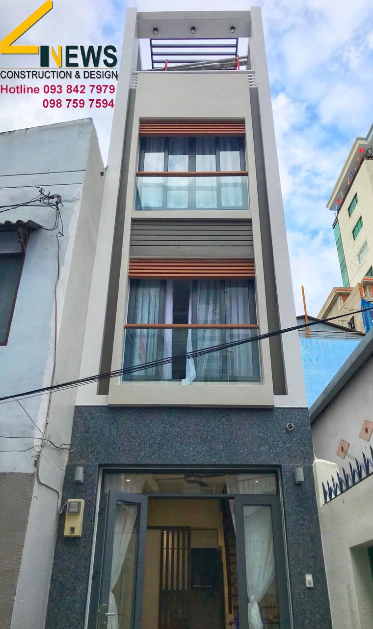 thiết kế nhà đẹp diện tích nhỏ tại tphcm