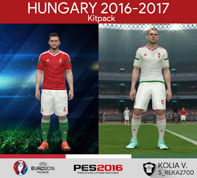 PES 2016 Hungary 2016-2017 Euro Kitpack by ramy