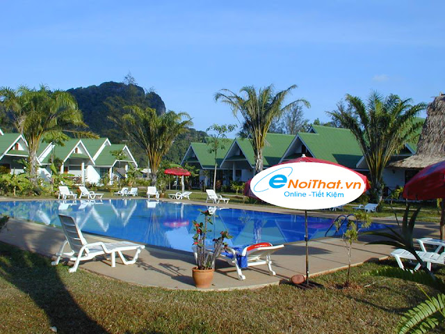 Khu resort Lợp Ngói Sinh Thái Onduvilla đẹp và mát mẻ làm người ta dễ chịu sung sướng và  dễ phải lòng, say nắng, đắm đuối (ảnh minh họa)